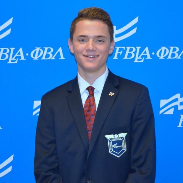 National FBLA President — Drew Lojewski
