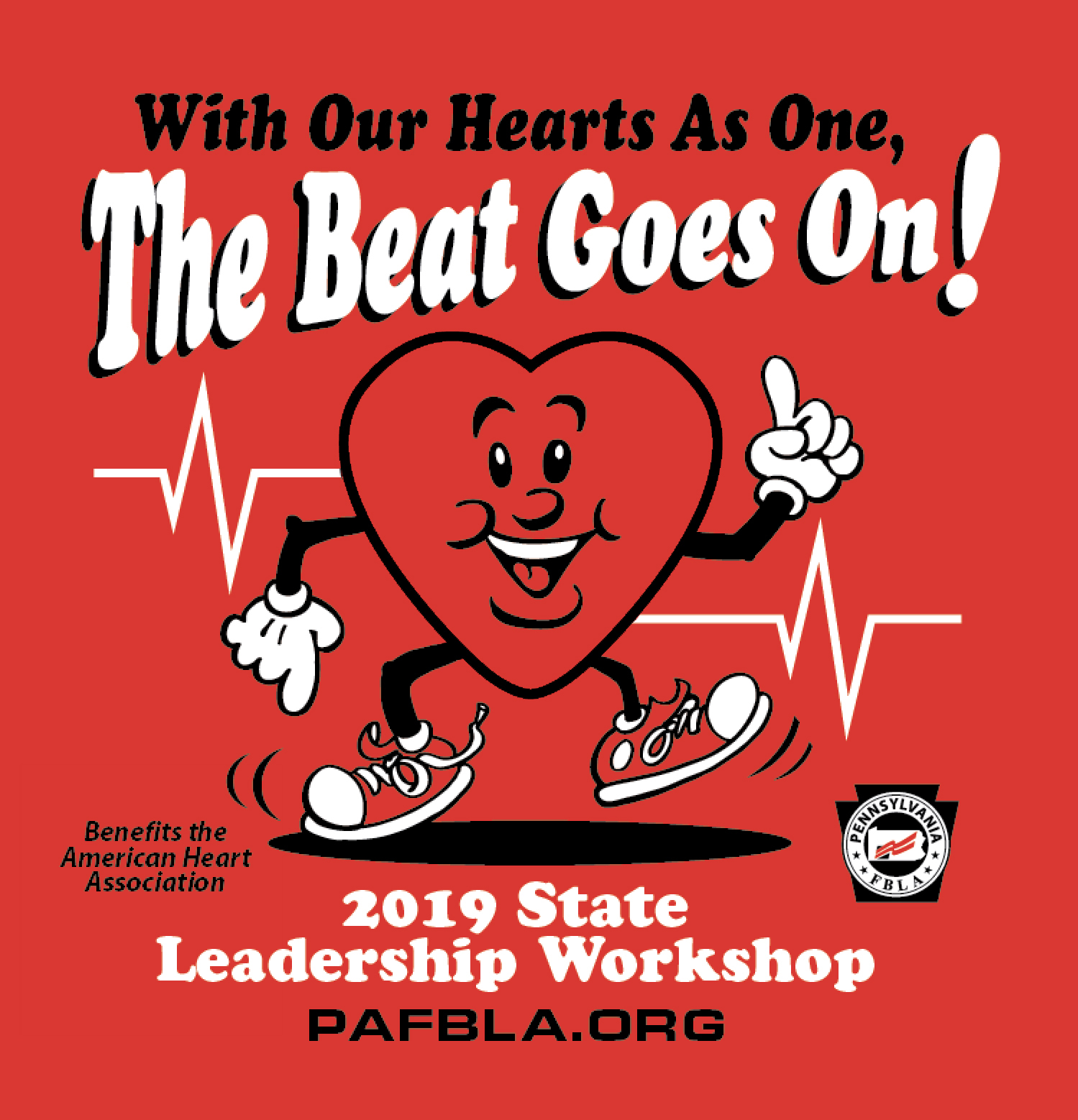 SLW T-shirt Sale to Benefit the American Heart Association