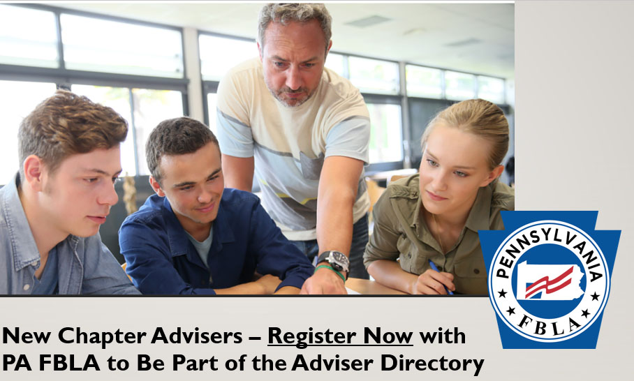 New Chapter/New Adviser Registration — Let's Hear from You!