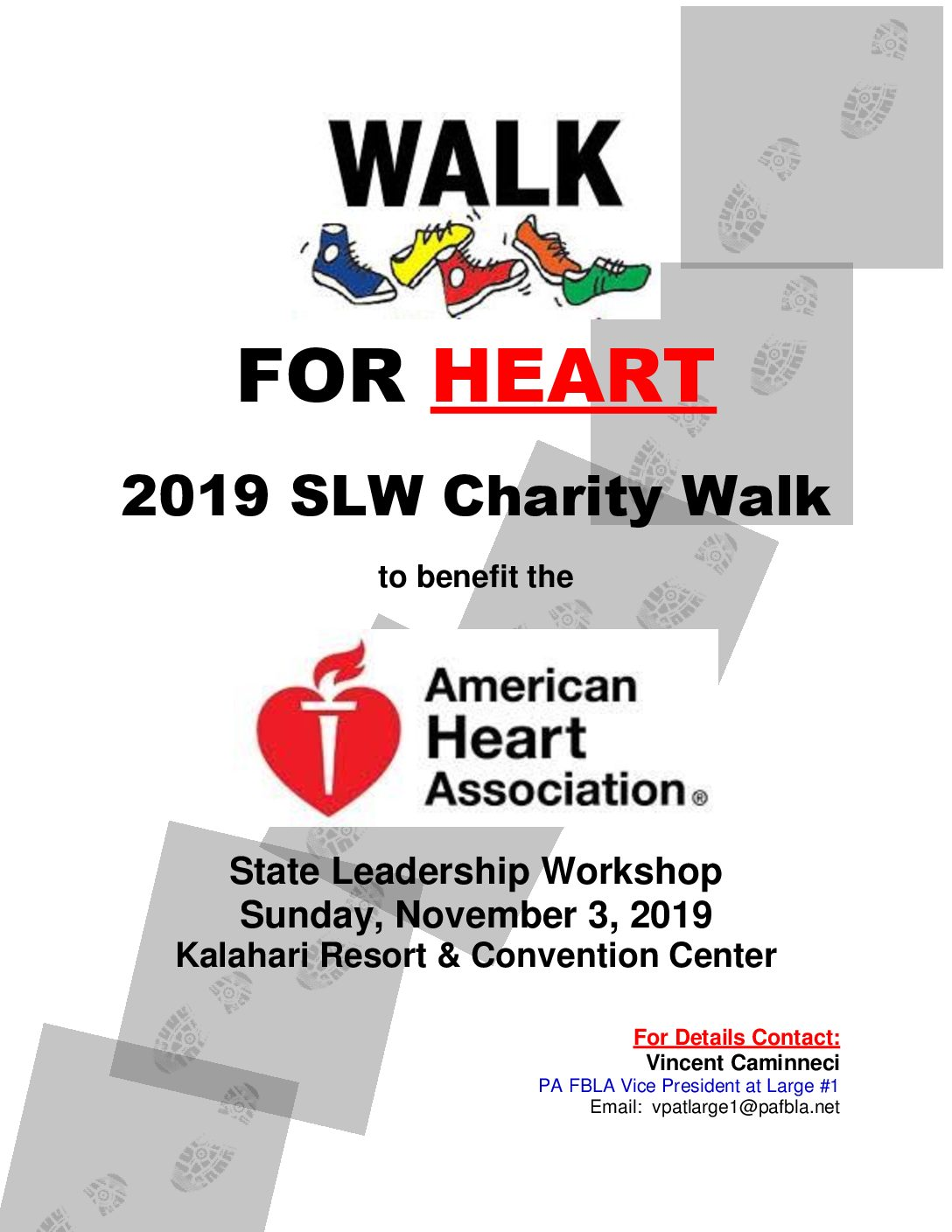 SLW Charity Walk to Benefit the American Heart Association