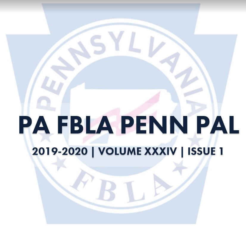 2019-2020 PA FBLA Penn Pal, Version XXXIV, Issue 1