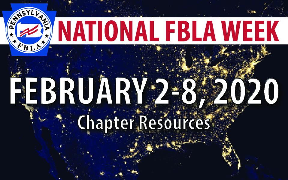 National FBLA Week Resources — February 2-8, 2020
