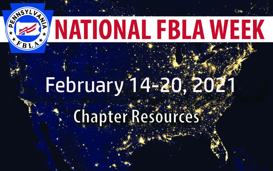 National FBLA Week Resources — February 14-20, 2021