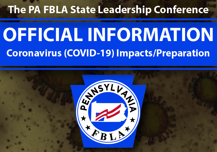 PA FBLA Statements on Coronavirus Impacts/Preparation