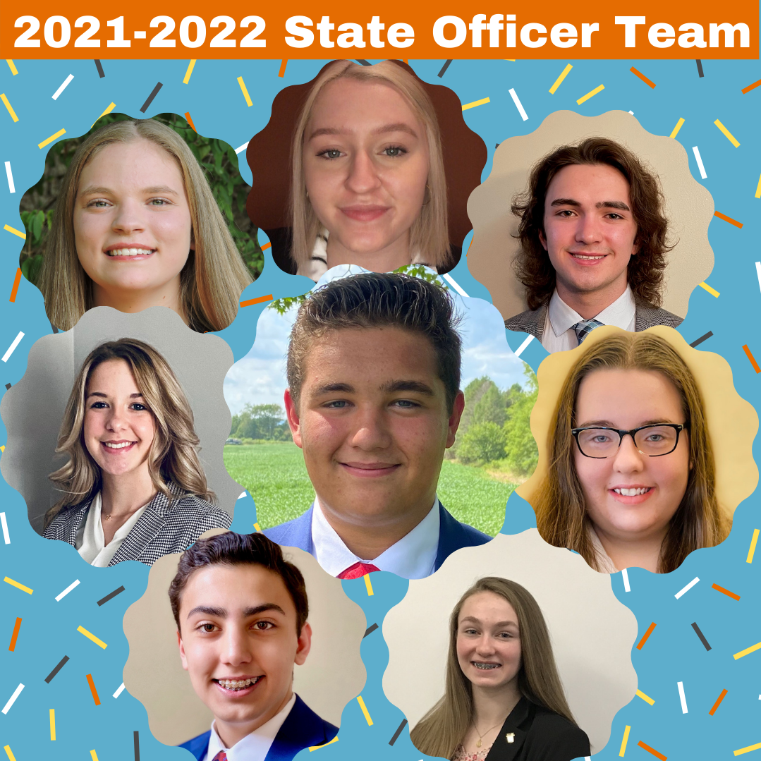 Welcome from Your 2021-2022 Pennsylvania FBLA Officer Team