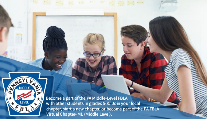 Become a Part of PA FBLA Middle-Level This Year